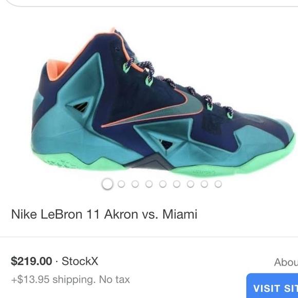Nike Shoes | Lebron 1s Akron Vs Miami
